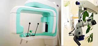 最新の設備を用いて精密な治療を行うこと
